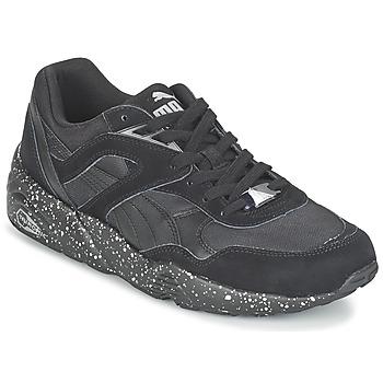 Skor Herr Sneakers Puma R698 SPECKLE V2 Svart / Silverfärgad