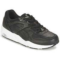 Skor Herr Sneakers Puma R698 CORE LEATHER Svart