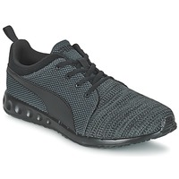 Skor Herr Sneakers Puma CARSON RUNNER CAMO KNIT EEA Svart / Grå