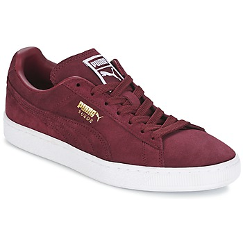 Skor Herr Sneakers Puma SUEDE CLASSIC + Bordeaux