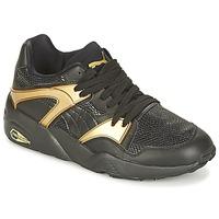 Skor Dam Sneakers Puma BLAZE GOLD WN'S Svart / Guldfärgad