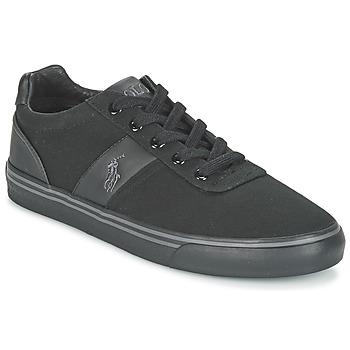 Skor Herr Sneakers Ralph Lauren HANFORD-NE Svart