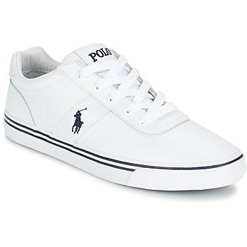 Skor Herr Sneakers Ralph Lauren HANFORD Vit