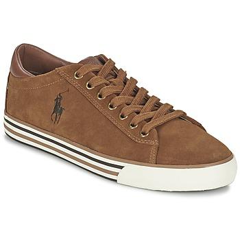 Skor Herr Sneakers Ralph Lauren HARVEY COGNAC