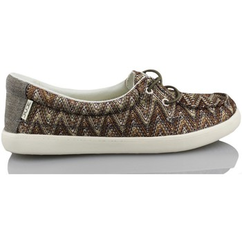 Skor Dam Sneakers Dude FERRARA MARRON