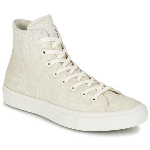 Skor Höga sneakers Converse CHUCK TAYLOR ALL STAR II  CAOUTCHOUC HI Beige