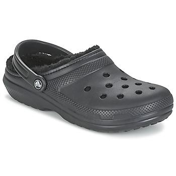 Skor Träskor Crocs CLASSIC LINED CLOG Svart