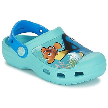 Skor Barn Träskor Crocs CC DORY CLOG Blå