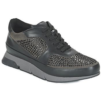 Skor Dam Sneakers Luciano Barachini OXFORD Svart / Grå