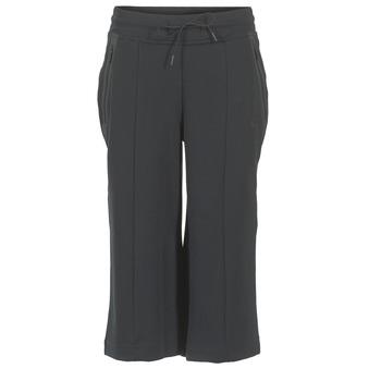 textil Dam Joggingbyxor Nike TECH FLEECE CAPRI Svart