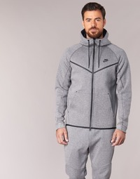 textil Herr Vindjackor Nike TECH FLEECE WINDRUNNER HOODIE Grå