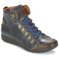 Skor Dam Höga sneakers Pikolinos LISBOA W67 Marin