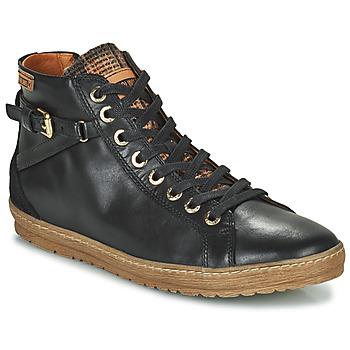 Skor Dam Höga sneakers Pikolinos LAGOS 901 Svart
