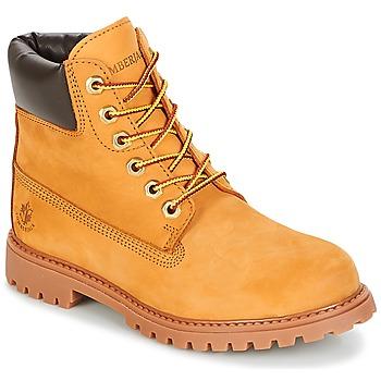 Skor Dam Boots Lumberjack RIVER Honung
