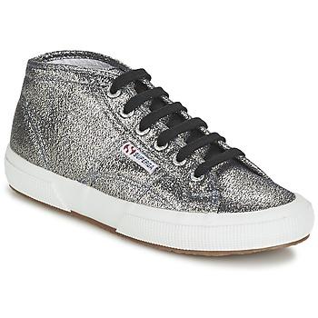 Skor Dam Höga sneakers Superga 2754 LAMEW Silver