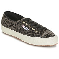 Skor Dam Sneakers Superga 2750 LEOPARDHORSEW Leopard
