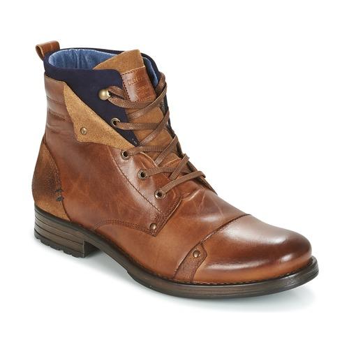 Skor Herr Boots Redskins YEDES Cognac