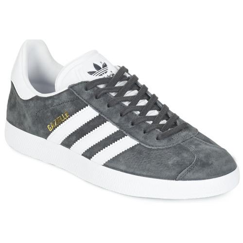 Skor Sneakers adidas Originals GAZELLE Grå / Mörk