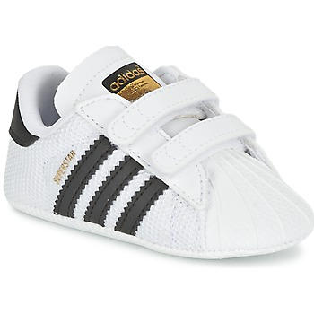 Skor Barn Sneakers adidas Originals SUPERSTAR CRIB Vit