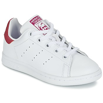 Skor Flick Sneakers adidas Originals STAN SMITH EL C Vit / Rosa