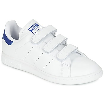 Skor Sneakers adidas Originals STAN SMITH CF Vit / Blå