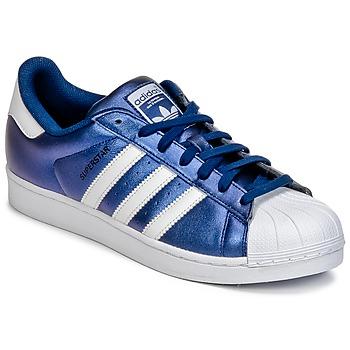 Skor Herr Sneakers adidas Originals SUPERSTAR Blå