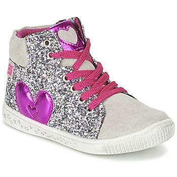 Skor Flick Höga sneakers Agatha Ruiz de la Prada BUSOULI Silverfärgad