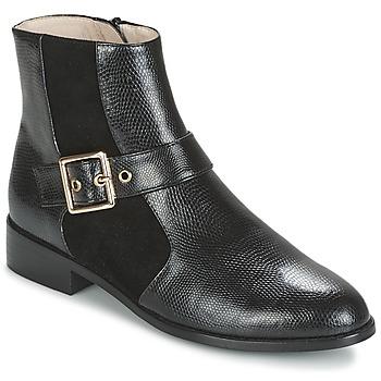 Skor Dam Boots Mellow Yellow ALDANA Svart