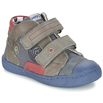Skor Pojk Boots Mod'8 KINZO Marin / Grå