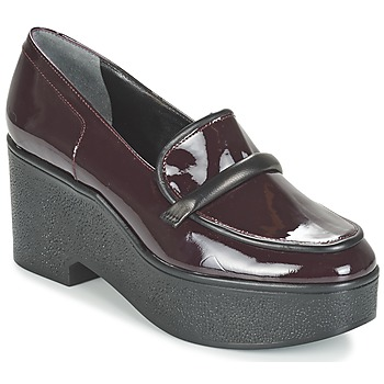 Skor Dam Loafers Robert Clergerie XOCOLE Bordeaux