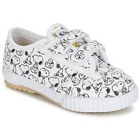 Skor Barn Sneakers Feiyue FE LO SNOOPY EC Vit