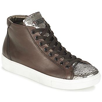 Skor Dam Höga sneakers Tosca Blu ALEXA Brun / Silverfärgad