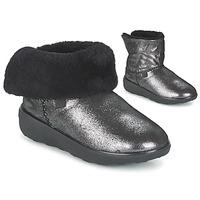 Skor Dam Boots FitFlop SUPERCUSH MUKLOAFF SHIMMER Silver