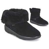 Skor Dam Boots FitFlop SUPERCUSH MUKLOAFF SHORTY Svart