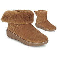 Skor Dam Boots FitFlop SUPERCUSH MUKLOAFF SHORTY Hasselnöt