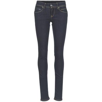 textil Dam Stuprörsjeans Pepe jeans NEW BROOKE M15 / Blå
