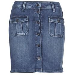 textil Dam kjolar Pepe jeans SCARLETT Blå