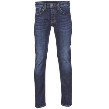 textil Herr Raka byxor Pepe jeans CASH Z45 / Blå / Mörk