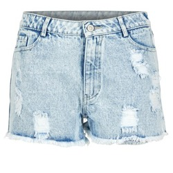 textil Dam Shorts / Bermudas Yurban EVANUXE Blå / Ljus