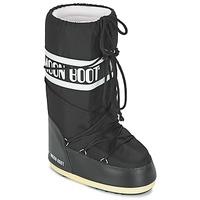 Skor Vinterstövlar Moon Boot MOON BOOT NYLON Svart