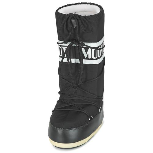 Damskor Rekommendera Moon Boot MOON BOOT NYLON Svart