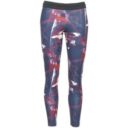 textil Dam Leggings adidas Originals FLOWER TIGHT Blå / Rosa