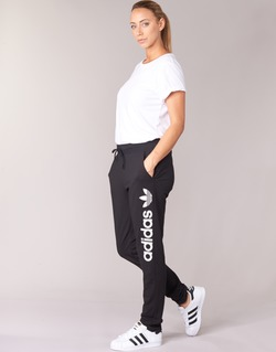 textil Dam Joggingbyxor adidas Originals LIGHT LOGO TP Svart