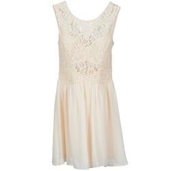 textil Dam Korta klänningar BCBGeneration 617574 Beige