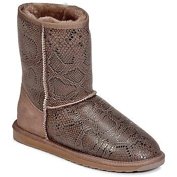 Skor Dam Boots EMU STINGER PRINT LO Brun