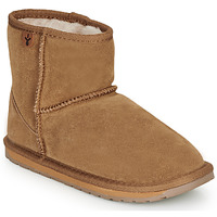 Skor Flickor Boots EMU WALLABY MINI Kastanjefärgad