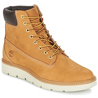 Skor Dam Höga sneakers Timberland KENNISTON 6IN LACE UP Beige
