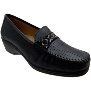 Skor Dam Loafers Calzaturificio Loren LOK3955bl blu