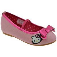 Skor Barn Ballerinor Hello Kitty  Rosa