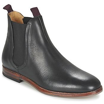 Skor Herr Boots Hudson TAMPER CALF Svart